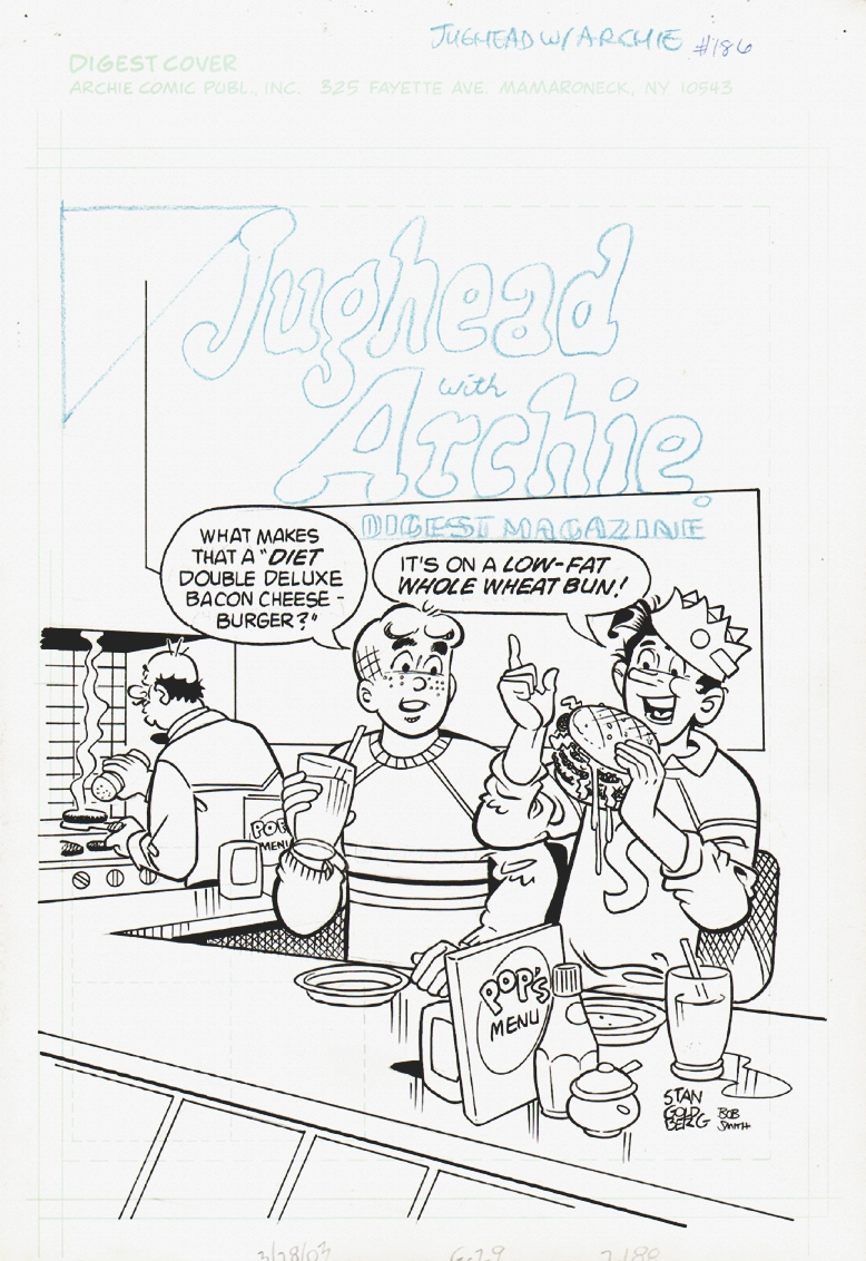 Jughead with Archie Digest #186 Cover